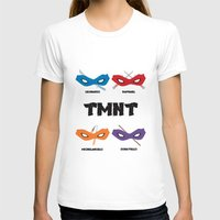 teenage mutant ninja turtles T-shirts featuring Teenage Mutant Ninja Turtles by DSCDESIGNS