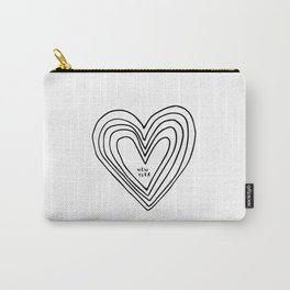 All Day. Every Day. Heartbeats for NYC. Carry-All Pouch