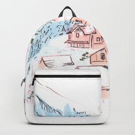 Hallstatt Austria Backpack
