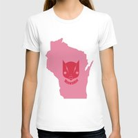 milwaukee T-shirts featuring Milwaukee Meowaukee by Mermade