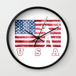 Team USA Golf on Olympic Games Wall Clock