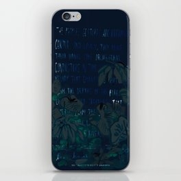 """""""Conquest of the Useless"""" by Werner Herzog Print (v. 5) iPhone Skin"""