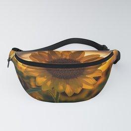 Sunset Flower Fanny Pack