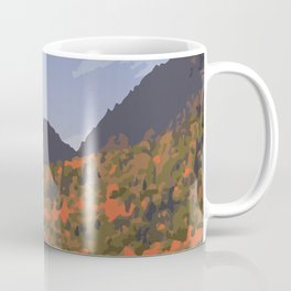 La Mauricie National Park Poster, Quebec Coffee Mug
