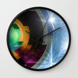 contacts Wall Clock