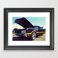 Cutlass cool Framed Art Print