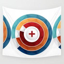 Geometric Modern Digital Abstracr Wall Tapestry