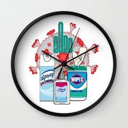 2020 essentials official commemorative graphic Wall Clock