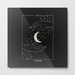 The Soon - Tarot Illustration Metal Print