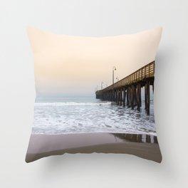 Cayucos California Coast Throw Pillow