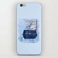 hallion iPhone & iPod Skins featuring Come Away with Me by Karen Hallion Illustrations
