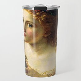 Take the Fair Face of Woman, and.... - Sophie Anderson Travel Mug