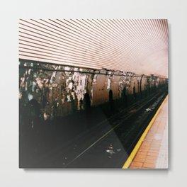 Subway 2 Metal Print