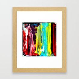 Color Abstract 2 Framed Art Print