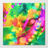 camouflage Canvas Prints featuring Camouflage by Geni