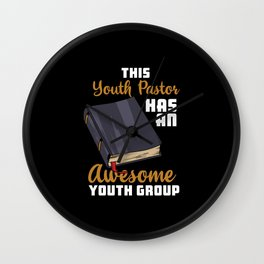 This Youth Pastor Has An Awesome Youth Group Wall Clock