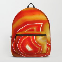 Orange Agate Backpack