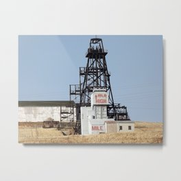 Mile High, Mile Deep Metal Print