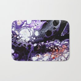 PURPLE GALAXY Bath Mat