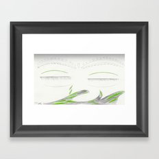 Cry Framed Art Print