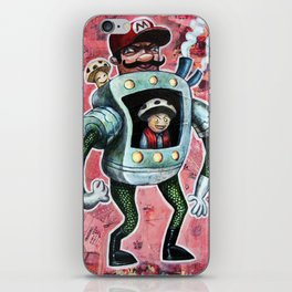 It's Mario Time iPhone Skin