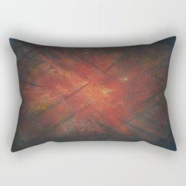 By the Campfire Rectangular Pillow