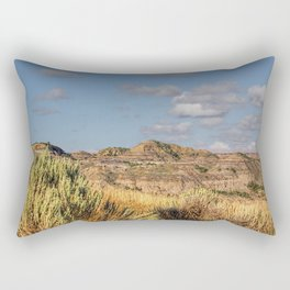 The Badlands Rectangular Pillow