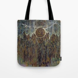 Nebulous Portal Emergence (Electric Gateway) Tote Bag