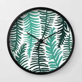 Groovy Palm Wall Clock