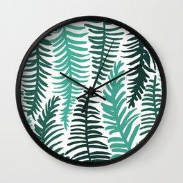 Groovy Palm Wall Clock