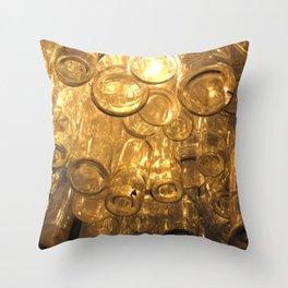 Venetian Bottles Throw Pillow