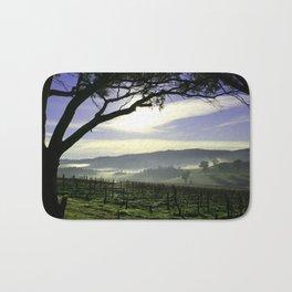 Barossa Sunrise Landscape Bath Mat