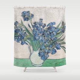 Vincent Van Gogh Irises 1888 Shower Curtain