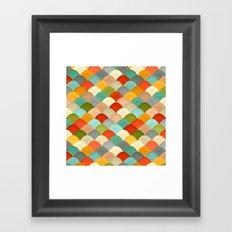 yarn hill dollops Framed Art Print