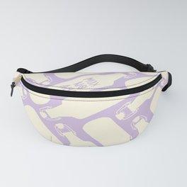 Kombucha Pattern - Cream Palette Fanny Pack