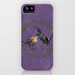 Grackles iPhone Case