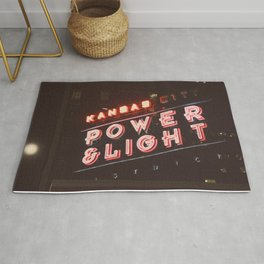 power and light Rug