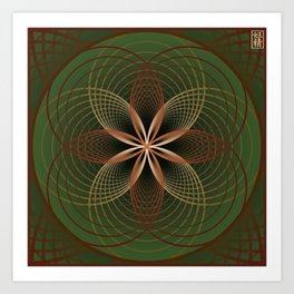 Alcaline Daze Art Print