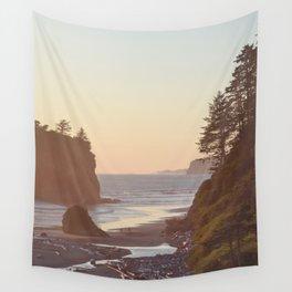 Ruby Beach Washington Sunset Pacific Ocean Coastal Landscape Northwest Explore Adventure Travel Outdoors Wall Tapestry