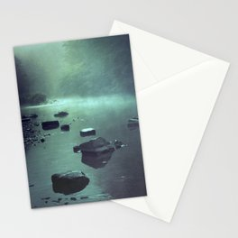cold mirror Stationery Cards