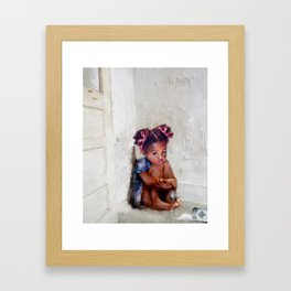 Sugar on the Floor Framed Art Print