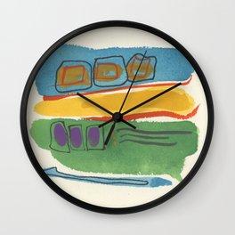 Beach Sunset 3 Wall Clock