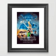 Deathwatch - credits ver. Framed Art Print
