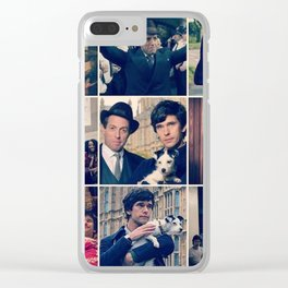 A very English Scandal Clear iPhone Case