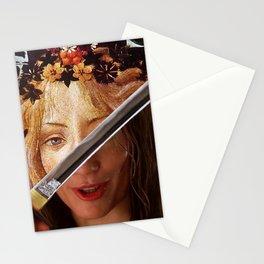 Kill Bill's Elle Driver & Botticelli's Flora Stationery Cards