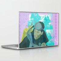 scuba Laptop & iPad Skins featuring Scuba Steve by Even In Death