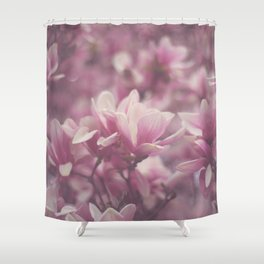 Pink Magnolia Shower Curtain