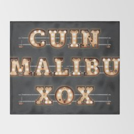 CUIN Malibu - Bulb Throw Blanket