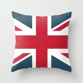 UK British flag Throw Pillow