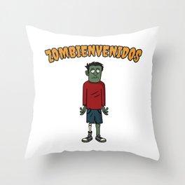 Zombienvenidos Gift Throw Pillow